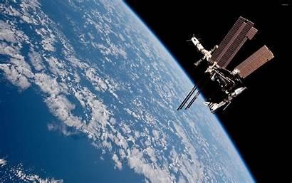 Space Station International Iss Progress Wallpapers Desktop