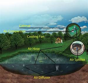 Pond And Lake Aeration Diagram