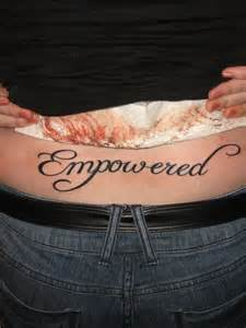 Domestic Violence Symbol Tattoo