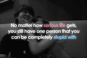 Stupid Picture ... Serious Topic Quotes