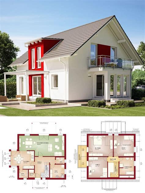 Einfamilienhaus Mit Loft Im Haus by Modernes Einfamilienhaus Mit Satteldach Architektur