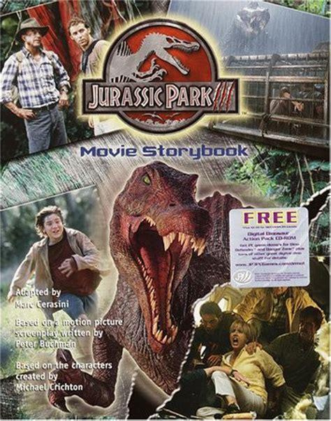 jurassic park tm iii  storybook  marc cerasini