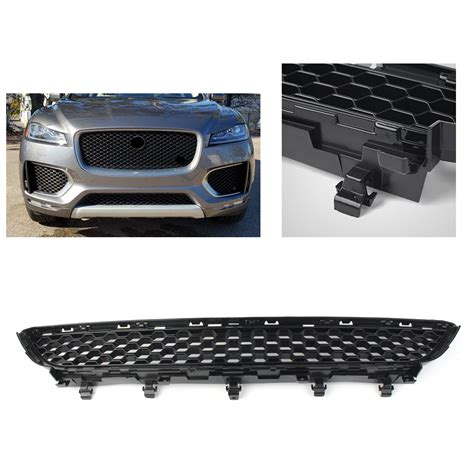 The 2019 jaguar f pace svr handles more like a traditional hatchback than lots of its suv rivals; Front Bumper Grille-Lower For 2016-2019 JAGUAR F-PACE ...