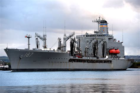 MSC Ship Inventory - Fleet Replenishment Oilers