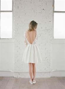 Robe Mariee Courte : mariage civil les robes courtes de rime arodaky ~ Melissatoandfro.com Idées de Décoration