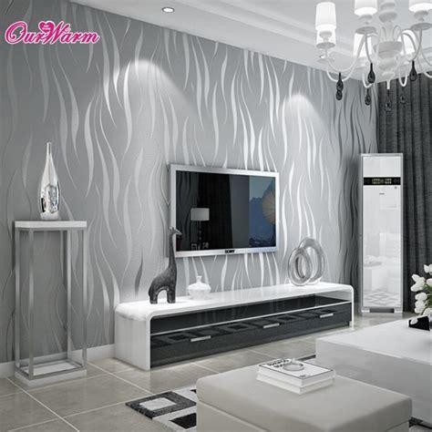 purple silver wave stripe wallpaper embossed tv