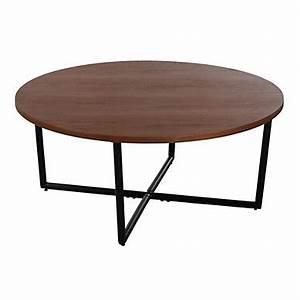 Grande Table Basse Ronde : table basse pas cher ~ Teatrodelosmanantiales.com Idées de Décoration