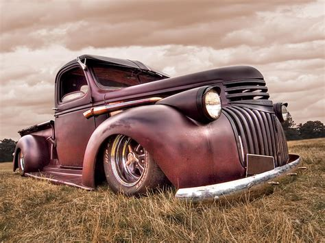 1941 Rusty Chevrolet Photograph By Gill Billington