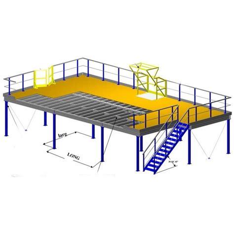 bureau industriel occasion plateforme de stockage à poteaux et plate forme industrielle