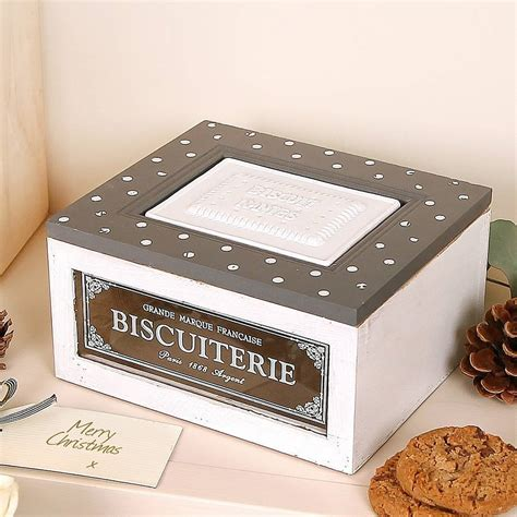 box cuisine patisserie biscuit patisserie box by dibor notonthehighstreet com
