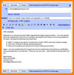How To Email Your Resume And Cover Letter by 8 Email Sending Resume Sle Cashier Resumes