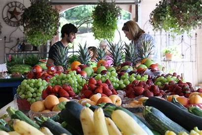 Market Farmers Going Markets Healthy Living Weatherford