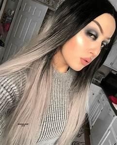 Haarfarbe Schwarz Grau : die besten 25 graue haarfarben ideen auf pinterest kr ftige haarfarbe haare grau f rben und ~ Frokenaadalensverden.com Haus und Dekorationen