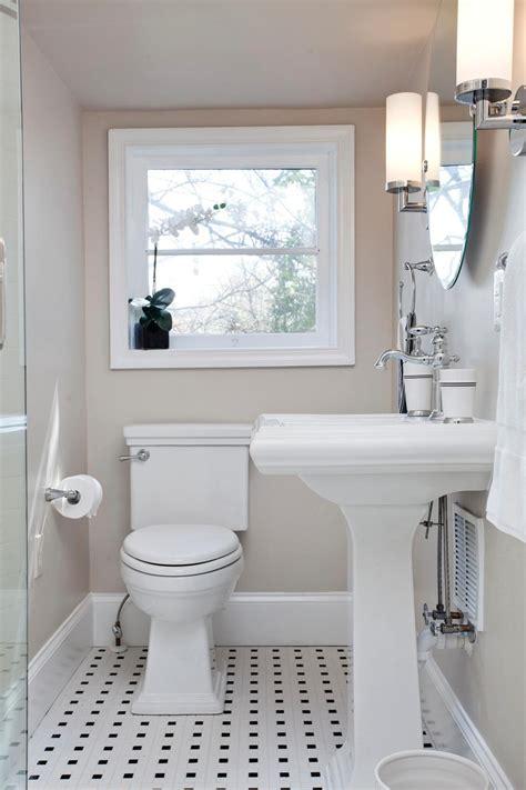 Vintage Black And White Bathroom Ideas by Transitional Bathroom Boasts Retro Black White Tile