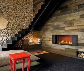 kaminofen design modern rustic fireplace designs ideas by modus
