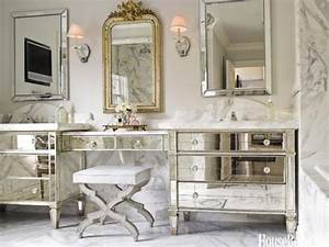 vintage bathroom decor ideas design tips for vintage With what kind of paint to use on kitchen cabinets for hollywood glam wall art