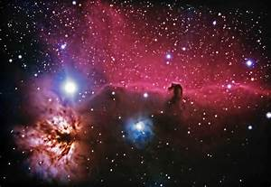 Deep Sky Objects - B33 Horsehead Nebula NGC2024 Flame Nebula