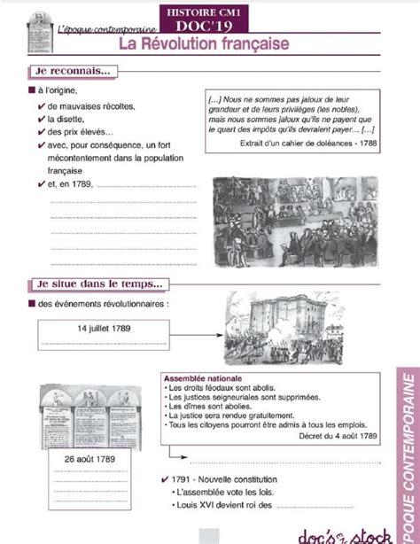documents du fichier eleve docs en stock histoire cm
