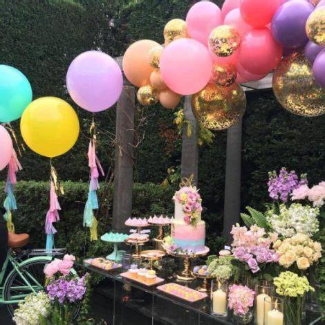 outdoor unicorn birthday party idea especialz
