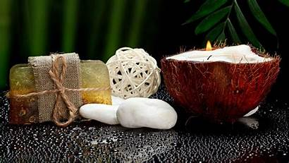 Coconut Spa Wallpapers Soap Candle Desktop Backgrounds