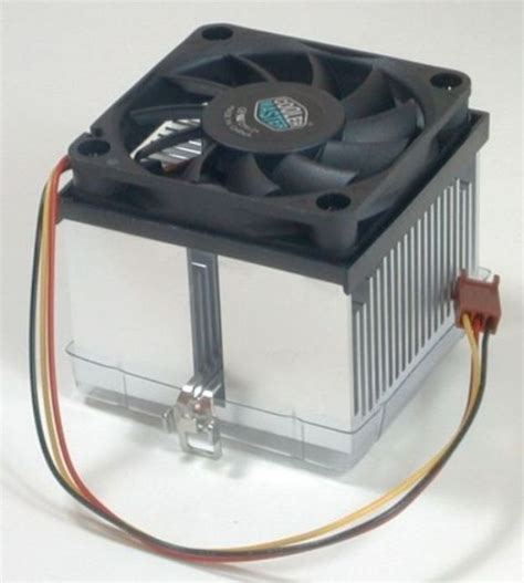 and cold fan cpu and cpu fan speed