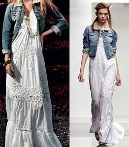 Robe Blanche Longue Boheme : robes boheme chic ~ Preciouscoupons.com Idées de Décoration