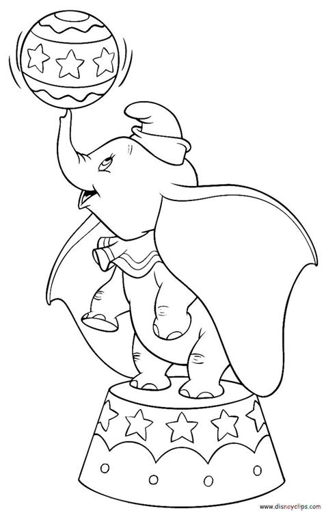 disney dumbo coloring pages bing images colorbook