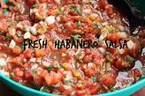 A Simple Kind of Life: Fresh Habañero Salsa!
