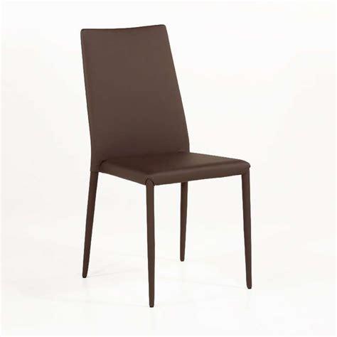 chaises en cuir chaise contemporaine en cuir bea 4 pieds tables