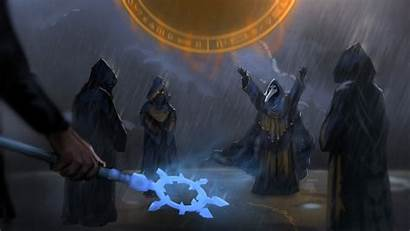 Terraria Fantasy Cultist Cultists Rain Wallpapers Epic