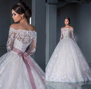 free wedding dress luxurious gown lace wedding dresses 2016 the shoulder sleeves sheer illusion