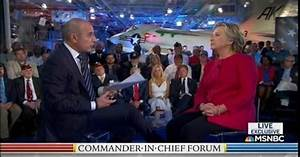 Eight Of The First Nine Questions At NBC's Commander-In ...