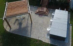 Mebane Deck  Patio  And Pergola Project Promotes Fitness