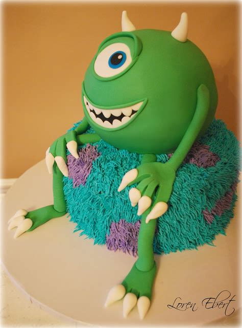 monsters inc cake the baking sheet monsters inc cake