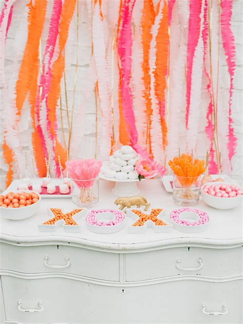 pink dessert table baby shower gold and pink circus shower 20 dessert tables to inspire