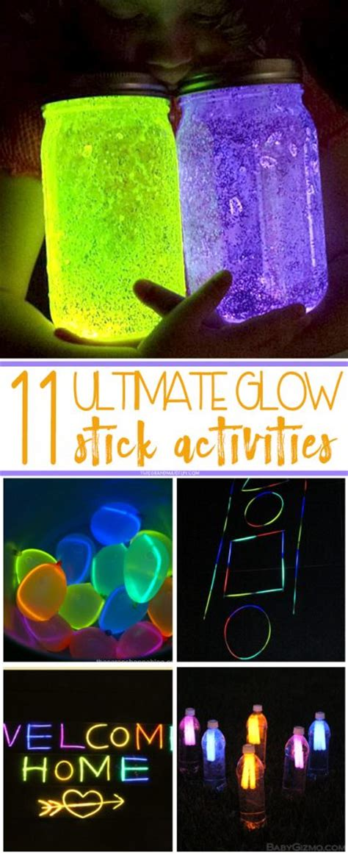 ultimate glow stick activities tgif  grandma  fun