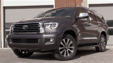 2018 Toyota Sequoia Review Youtube