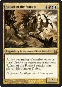 ruhan of the fomori commander edh decks articles and