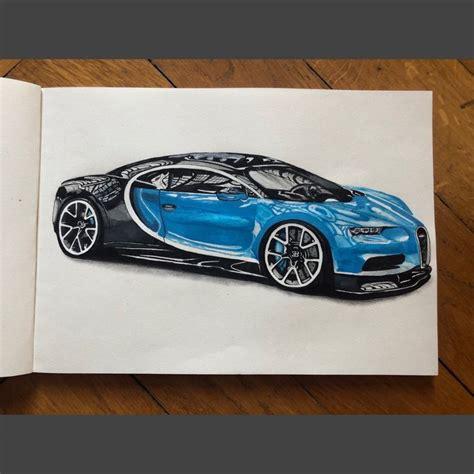 Bugatti sketch at paintingvalley com explore collection of. Bugatti chiron - Andrea D'Alessandro - Draw to Drive in 2020 | Bugatti chiron, Car drawings ...