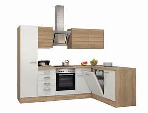Küche Mit Geräten : eckk che rom k che mit e ger ten breite 270 x 170 cm wei k che k chenzeilen ~ Yasmunasinghe.com Haus und Dekorationen