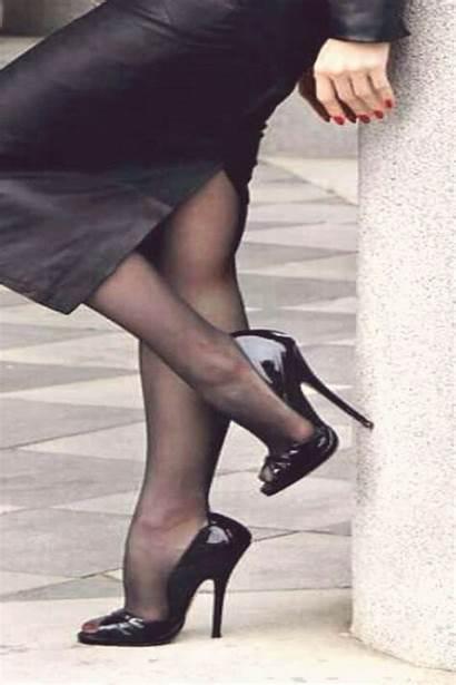 Nylons Heels Pumps Stilettos Stiletto Heel άρθρο