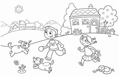 Coloring Pages Fun Summer Interesting