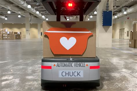 river systems chuck robot volunteers  thanksgiving