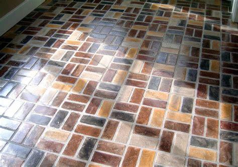 brick paver kitchen floor floor ideas kitchen brick paver thin flooring best colors 4888