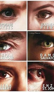 Caroline, Katherine, Stefan, Damon, Elena, Enzo. The ...