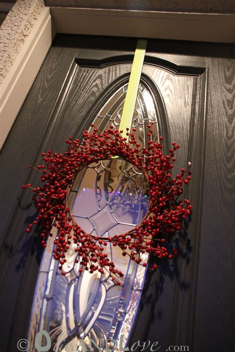 how to hang a wreath on a door olive and how to hang a wreath on your front door