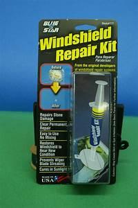 Windshield Glass Repair Kit For Stone Damage Chip Repair