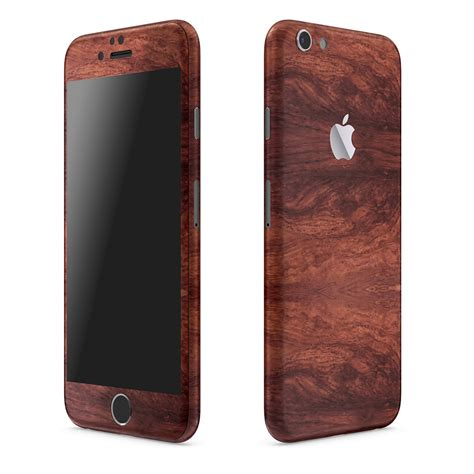 iphone skin wrap suit up your iphone with the iphone 6 6 mahogany wood wrap