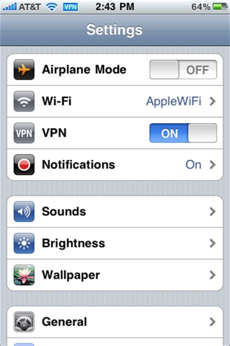 vpn on iphone iphone vpn