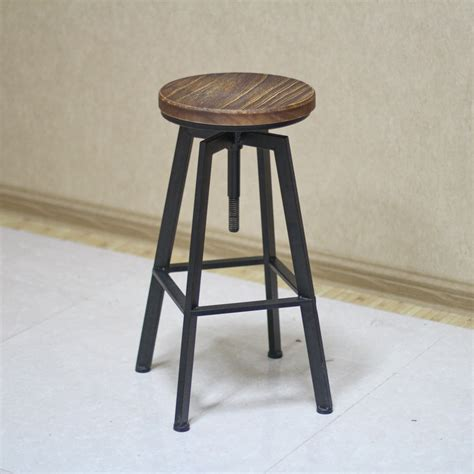 wood and iron bar rustic wooden bar stools with backs cabinet hardware